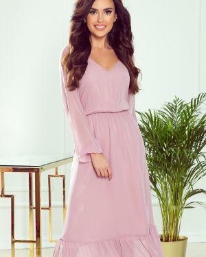 Sukienka midi z szyfonu oversize Numoco