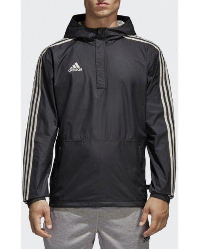 Черная ветровка Adidas