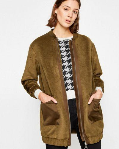Зеленое пальто Koton