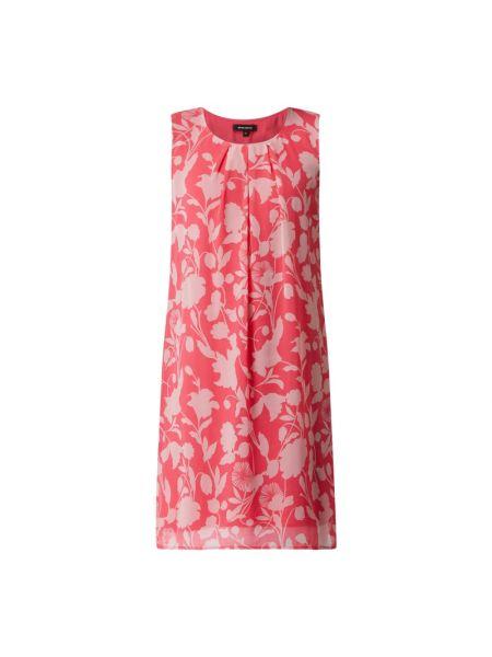 Sukienka rozkloszowana - różowa More & More