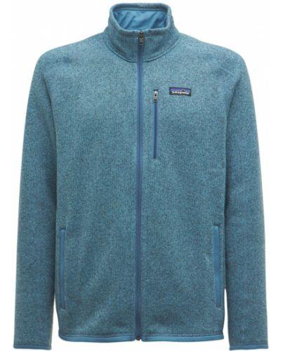 Куртка с карманами - синяя Patagonia
