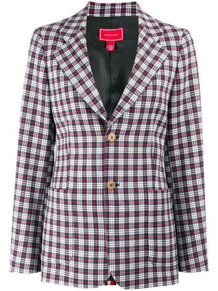 Куртка в клетку на пуговицах Hilfiger Collection
