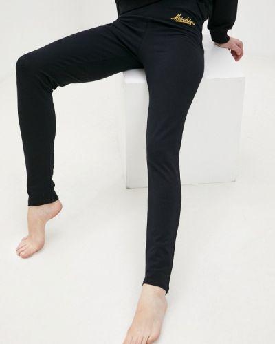 Леггинсы - черные Moschino Underwear