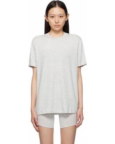 Хлопковая футболка Skims