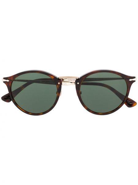 Prosto brązowy oprawka do okularów metal Persol