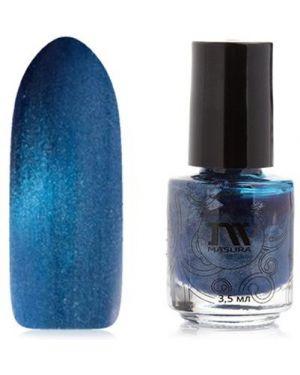Синий лак для ногтей Masura