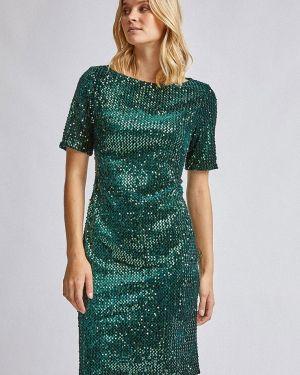Вечернее платье осеннее зеленый Dorothy Perkins