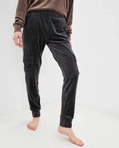 Домашние серые брюки Hunkemoller