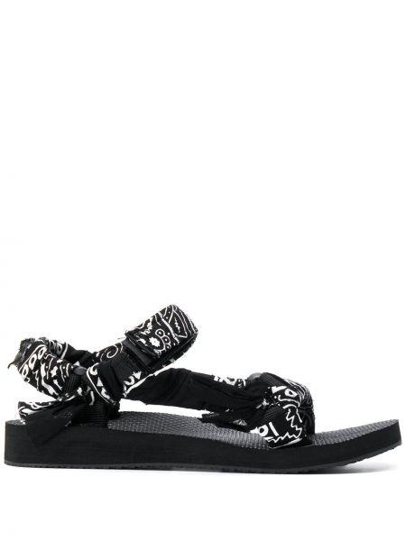 Sandały czarny i biały czarne Arizona Love