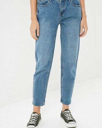 Синие джинсы бойфренды Befree