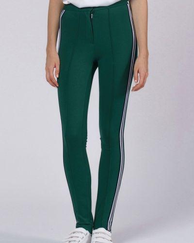 Спортивные брюки с завышенной талией зеленый Oks By Oksana Demchenko