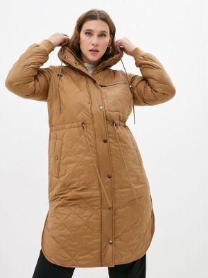 Утепленная куртка - бежевая Zizzi