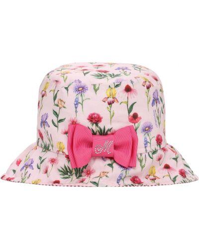 Bawełna bawełna różowy kapelusz Monnalisa