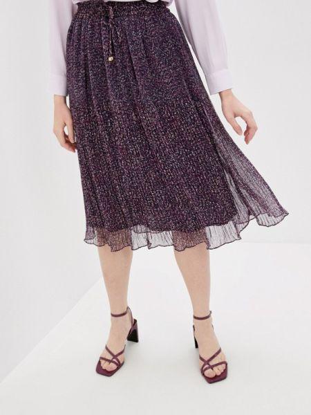 Фиолетовая блузка с длинным рукавом Rivadu
