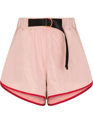 Розовые шорты с карманами P.e Nation
