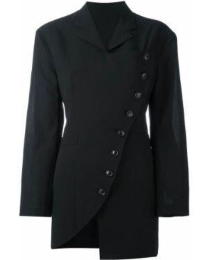 Пиджак черный винтажный Yohji Yamamoto Pre-owned