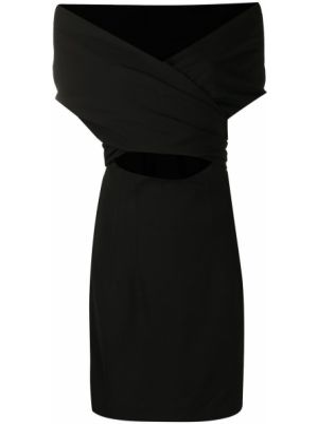 Платье черное приталенное Dolce & Gabbana