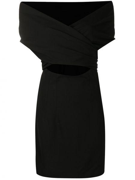 Sukienka mini chudy czarny Dolce And Gabbana