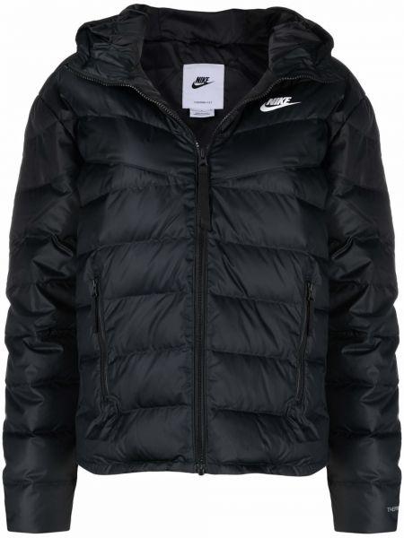 Дутая куртка - черная Nike