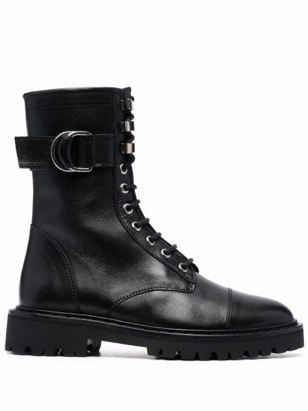 Кожаные ботинки - черные Iro