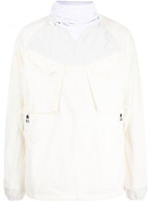 Белая нейлоновая куртка Maharishi
