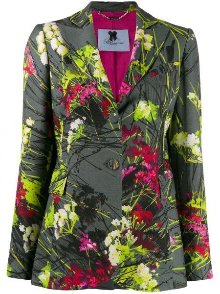 Однобортный пиджак с карманами Blumarine
