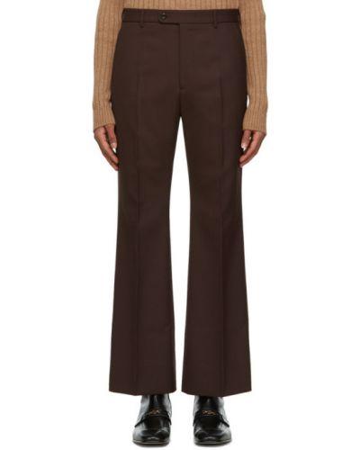 Przycięte spodnie, brązowy Gucci
