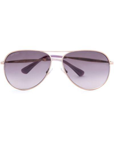 Солнцезащитные очки с градиентом итальянский Jimmy Choo  (sunglasses)