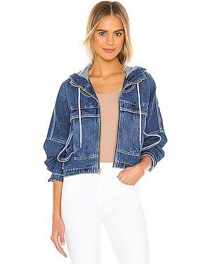 Джинсы mom с манжетами Hudson Jeans
