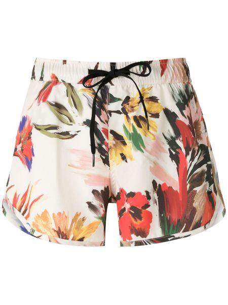 Свободные пляжные шорты с поясом Osklen