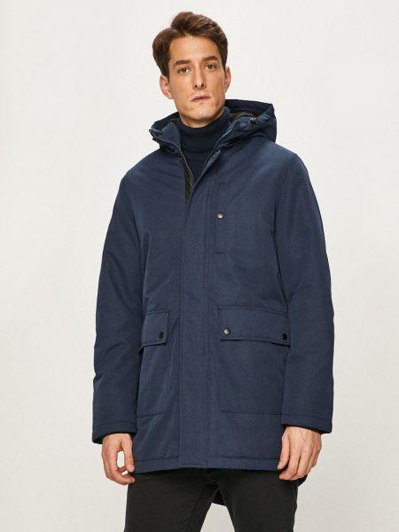 Куртка с капюшоном - синяя Produkt By Jack & Jones