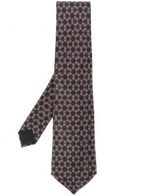 Черный галстук Hermès Pre-owned