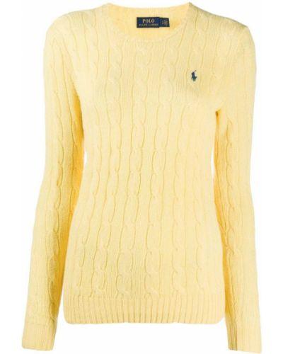 Polo z haftem - żółta Polo Ralph Lauren