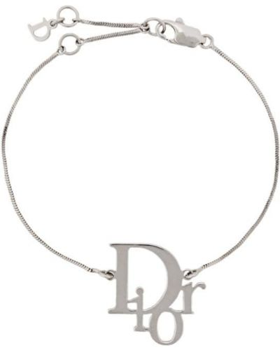 Браслет винтажный - серебряный Christian Dior Pre-owned