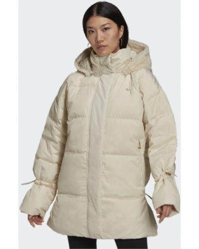Утепленная куртка - бежевая Adidas