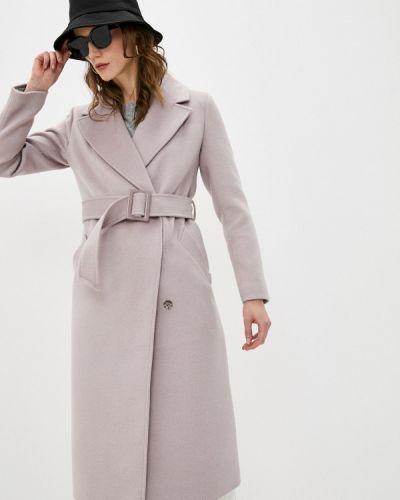 Розовое пальто двубортное Vivaldi