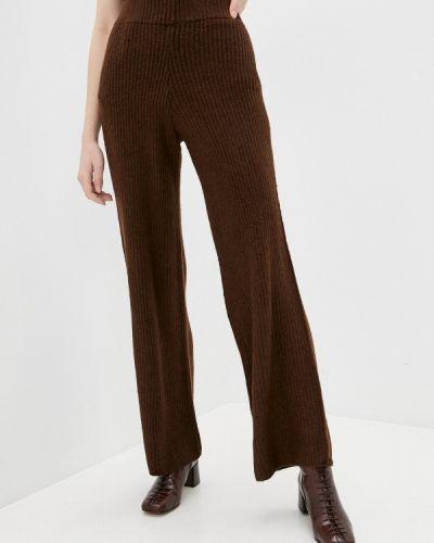 Повседневные коричневые брюки Zarina