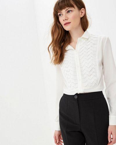 Блузка с длинным рукавом белая весенний Gepur