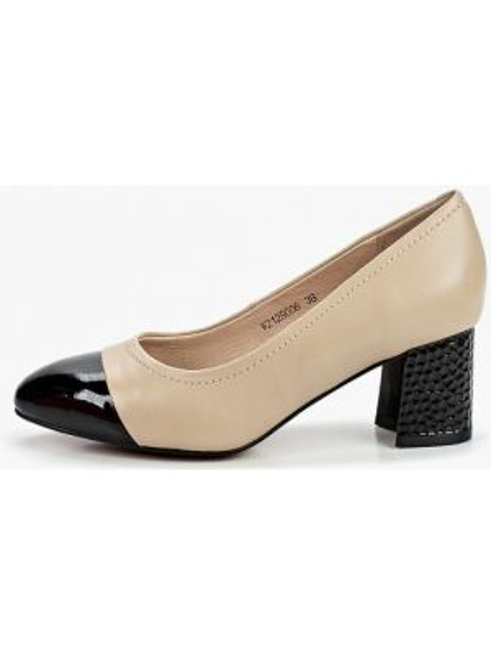 Кожаные туфли бежевый закрытые Pierre Cardin