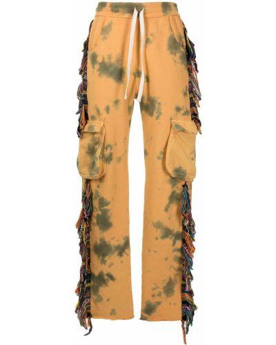 Żółte spodnie bawełniane Alchemist