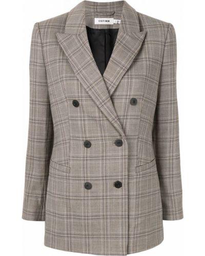 Удлиненный пиджак с карманами Cefinn