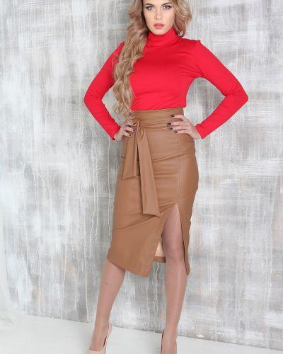 d488e0fb996 Кожаные юбки с разрезом - купить в интернет-магазине - Shopsy