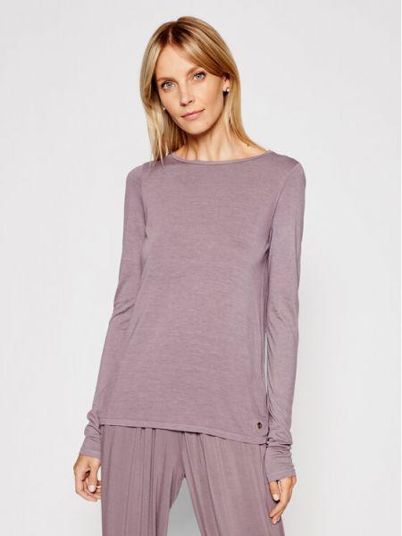 Fioletowa bluzka Deha
