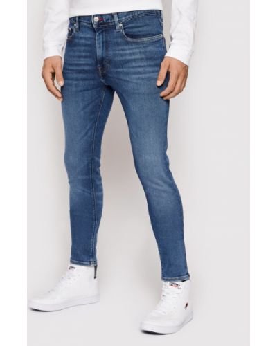 Mom jeans - niebieskie Tommy Hilfiger