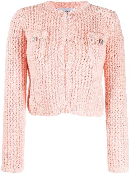 Вязаный кардиган розовый Chanel Pre-owned