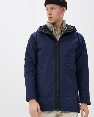 Теплая синяя куртка Reebok