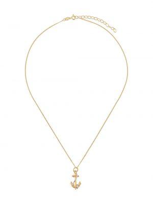 Ожерелье золотое с подвесками True Rocks