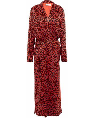 Шелковый халат Michelle Mason