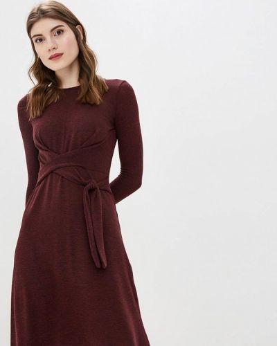 Платье бордовый вязаное Dorothy Perkins