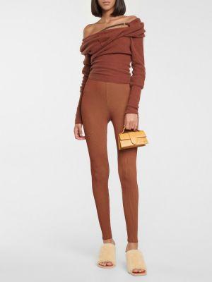 Шерстяной свитер - коричневый Jacquemus